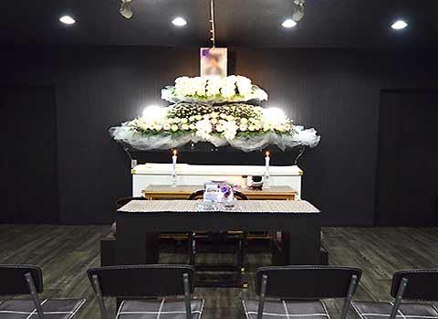 安心安全な家族葬自社プラン祭壇PC用